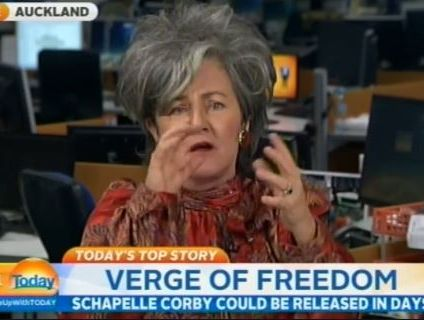 Former Corby family lawyer Kerry Smith-Douglas on Channel Nine's Today.