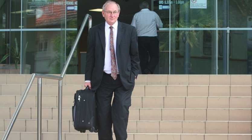 Rockhampton criminal lawyer Doug Winning is looking to run in the next State election against the