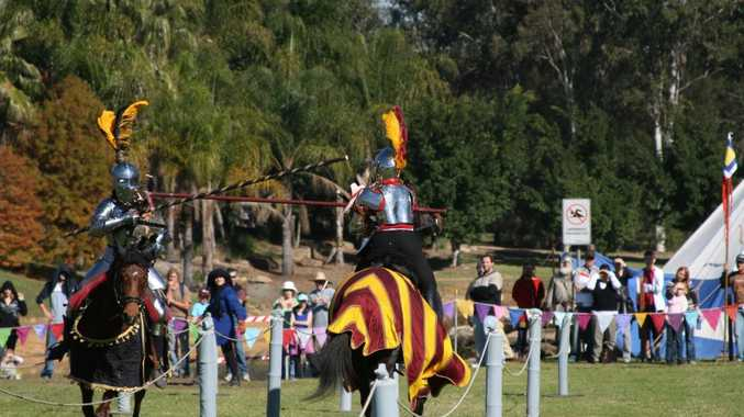 Jousting is coming to the Tenterfield Show for the first time this weekend.