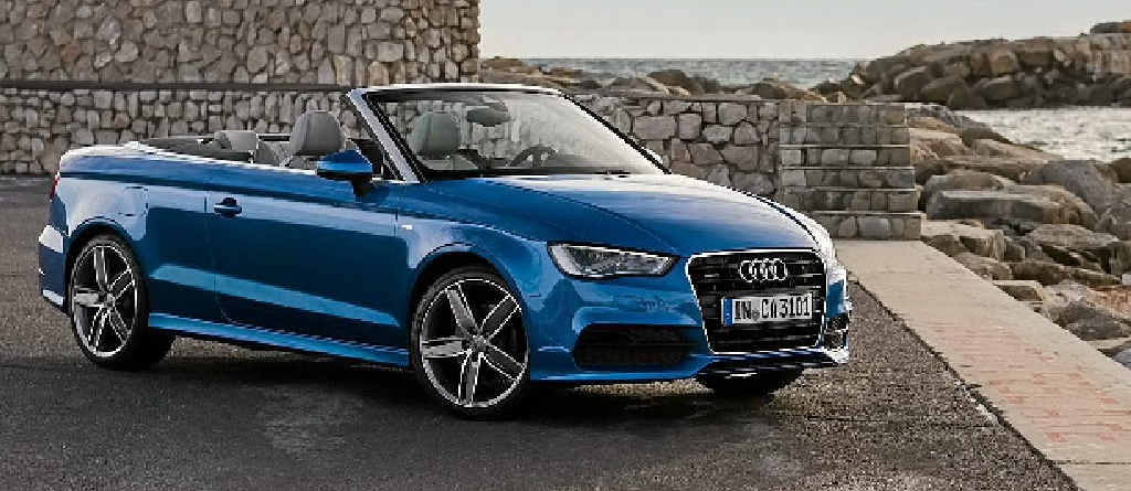 The Audi A3 Cabriolet.