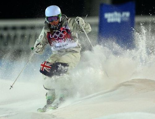 Aussie hits the slopes at Sochi 2014