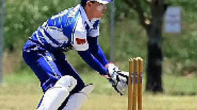 Wicketkeeper/batsman Luke Dixon