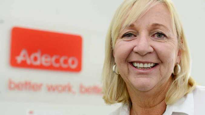 Sue Lance from Adecco Australia's Rockhampton office can help people find the right job.