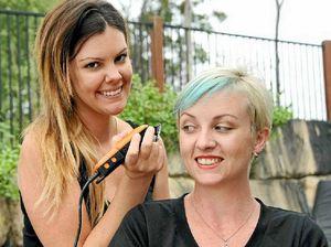 Hairdresser swaps seat for fundraiser