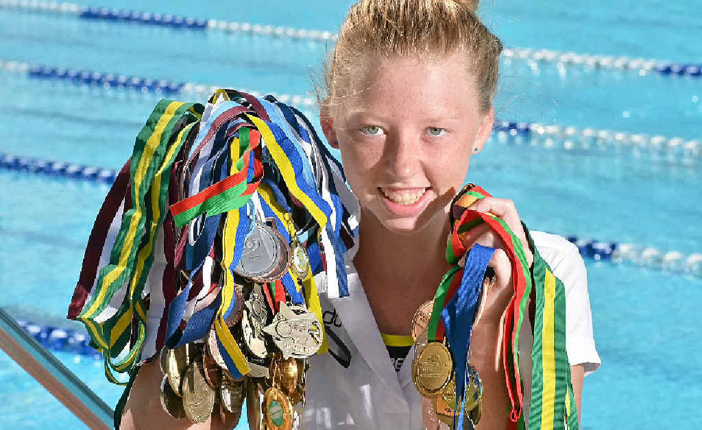 """INSPIRING ATHLETE: Lakeisha """"Lucky"""" Patterson has faced many obstacles on her way to becoming a successful Australian Title swimmer."""