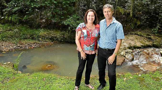 ON A ROLL: Joanne and Mark Skinner, from Narrows Escape Rainforest Retreat, are two-time winners at the Australian Tourism Awards.
