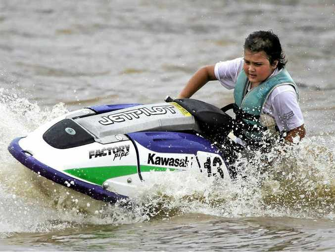 AWARENESS: Coen Ashton plans to jetski 2000km along the Murray River to raise awareness of tissue and organ donation.