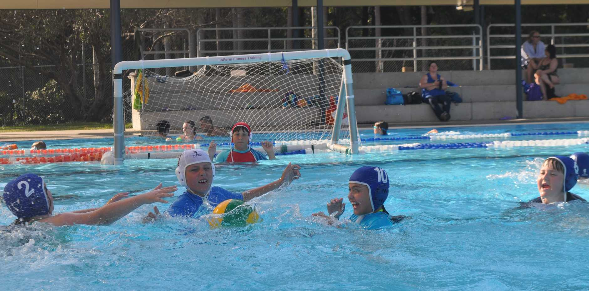 Kids can experience the entry level to water polo this Sunday at Coffs Harbour War Memorial Olympic Pool.