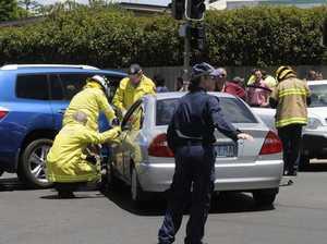 Three car bingle causes traffic congestion