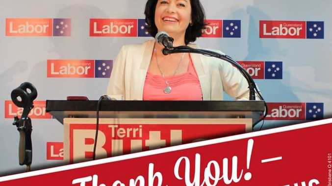 Image uploaded to Facebook by Terri Butler's campaign team congratulating Labor on the win.