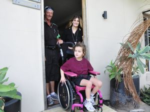 Life a little easier for girl in wheelchair thanks to help