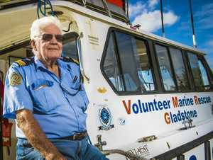 Volunteer Jim Purcell.is proud of his groups' work towards safe boating in the region.