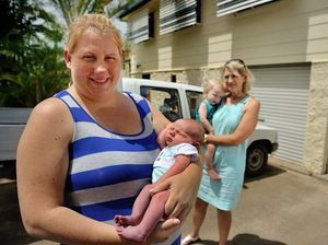 Baby born in driveway lucky his grandmother lives nearby