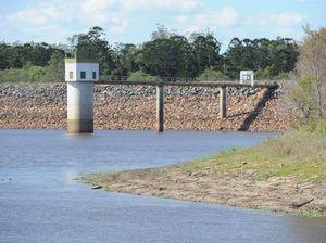 Lenthall's Dam level falling despite weekend rain