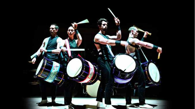 A performance from TaikOz is as much about movement as it is music.
