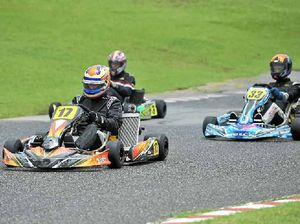 Gladstone driver takes the fast track to karting success