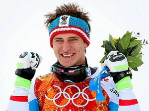 Austrian shocks his rivals at Sochi