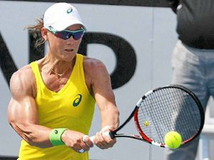 Stosur muscles up as Aussies fire in Fed Cup