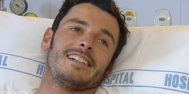 Darren Mills describes his terrifying ordeal while in Southland Hospital. Photo / One News