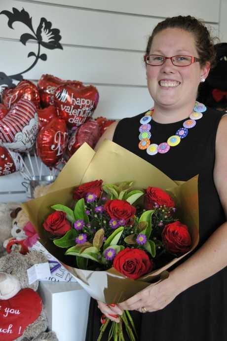 Florist Cassie Muller.