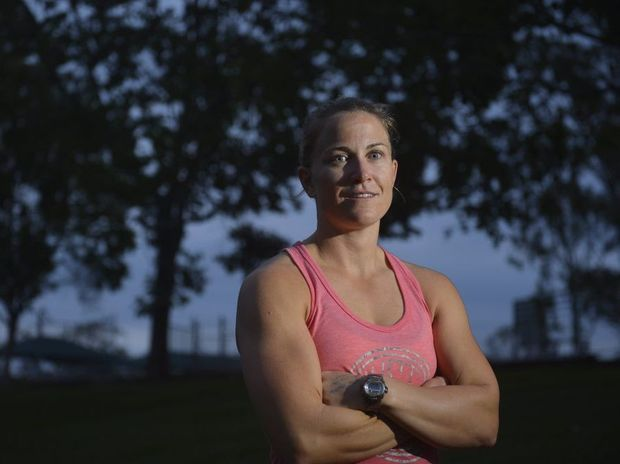 Kristal Johnston began playing rugby league for the Raidettes four years ago and has not looked back.