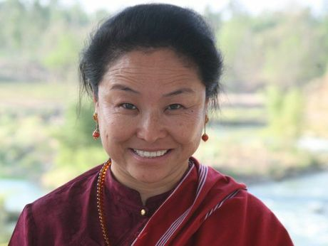 Tibetan Buddhist meditation master Khandro Rinpoche will be sharing her wisdom during a spiritual meditation and yoga session at Kingfisher Bay Resort on Saturday, February 15.