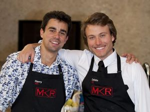 Harry and Christo's My Kitchen Rules meltdown