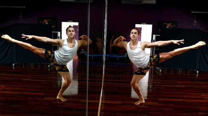 MOVING AHEAD: Lismore dancer Jarrad Cramp is a contestant on So You Think You Can Dance.