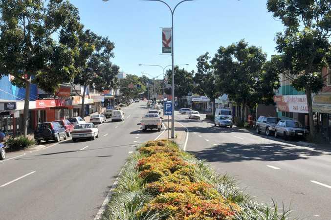 Nambour street scene, main street. Photo:Warren Lynam / Sunshine Coast Daily