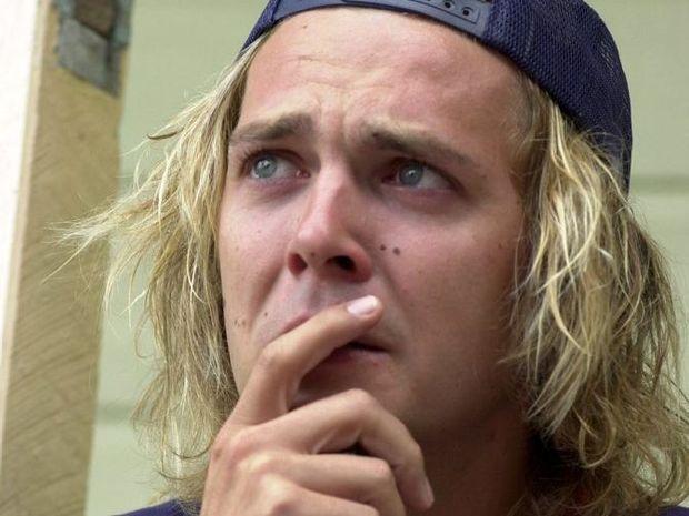 Tobias Suckfuell, boyfriend of murdered girl Simone Strobel.