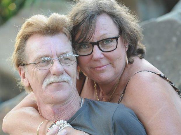 Maryborough's Helen Rekdale and Ron Conron found love online.