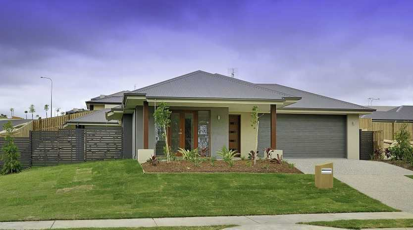 FAMILY'S PARADISE: Lot 327 Koolivoo Pde is just one of the homes currently available at Riverstone Rise, Boyne Island.
