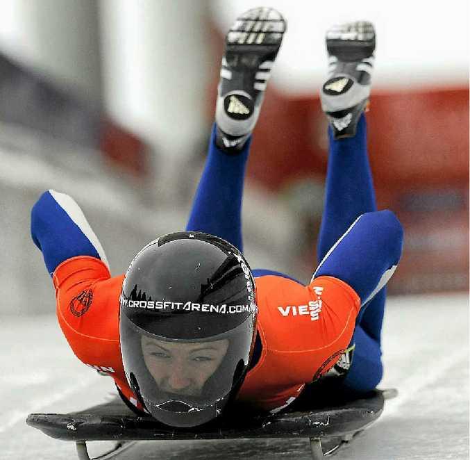 HIGH SPEED: Michelle Steele was chosen by the Australian Institute of Sport talent identification scheme to train the sport of skeleton due to her explosive speed.