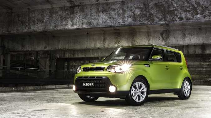 The new Kia Soul Si.