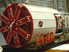Bechtel has had a replica tunnel boring machine made out of 50,000 Lego pieces.