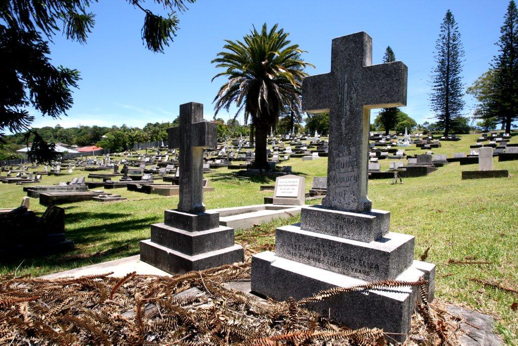 Tweed cemetery was attacked by vandals last week.