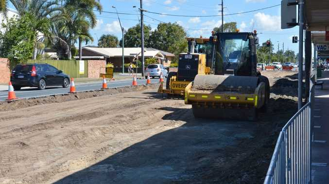 Shakespeare St roadworks are expected to be finished about April.