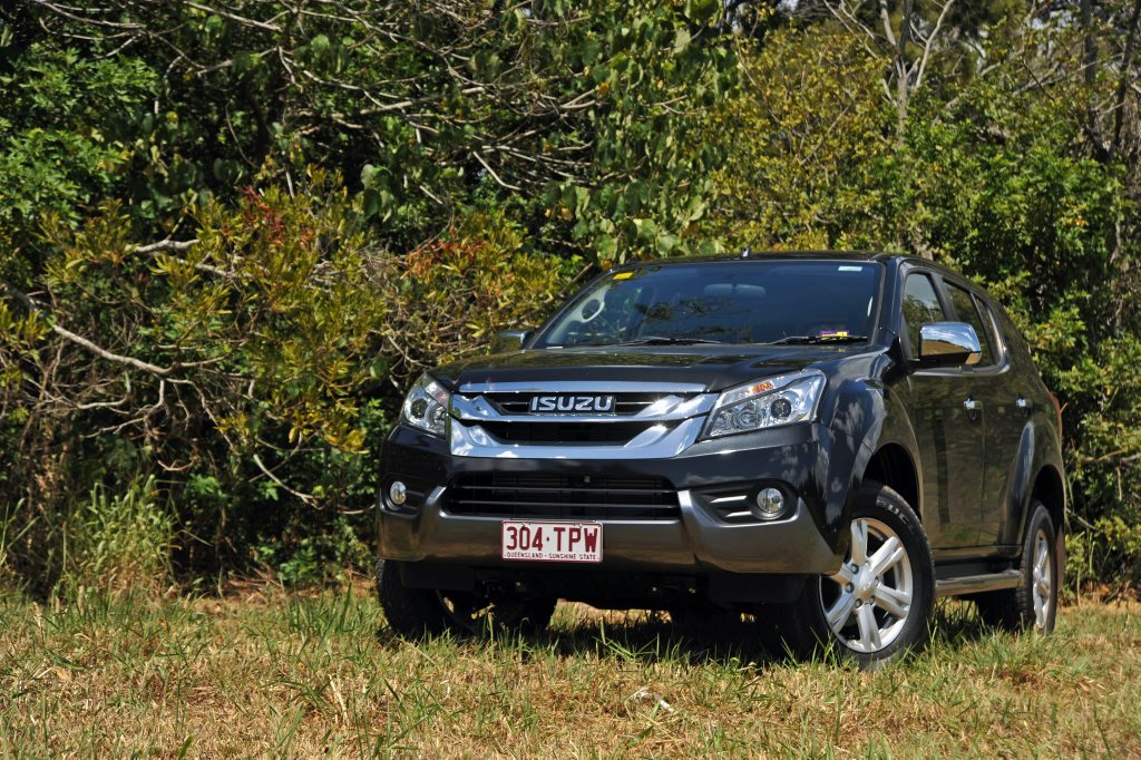 The new Isuzu MU-X.