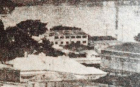 Old images as seen on the Lost Ipswich Facebook page. Members on the page are trying to determine what the white building in the middle of this image is. Photo: Contributed