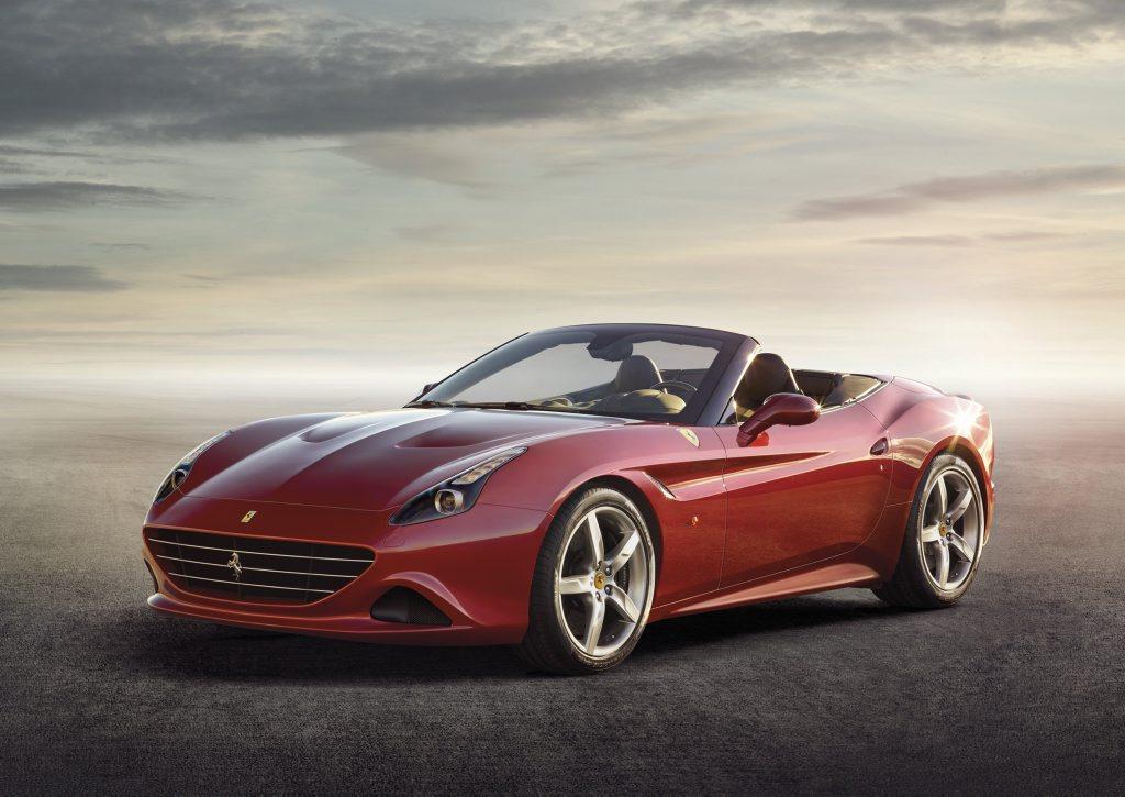 The new Ferrari California T.