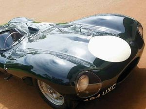 $5M Jaguar crashed at Harwood - in 1957!