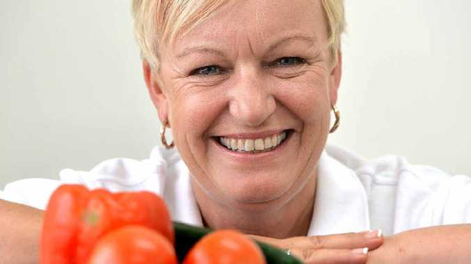 Christine Stevens hopes people will be inspired to make yummy salads.