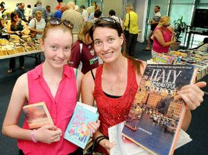 Early bookworms get some great reading material at sale