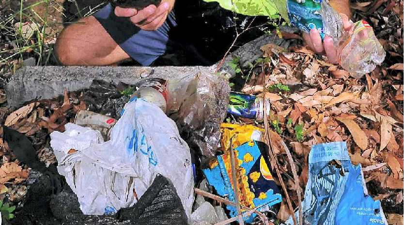 PLASTIC MENACE: Joe Jurisevic is looking for a big turn-out for Clean Up Australia Day on March 2, to help collect the rising amount of discarded plastic.