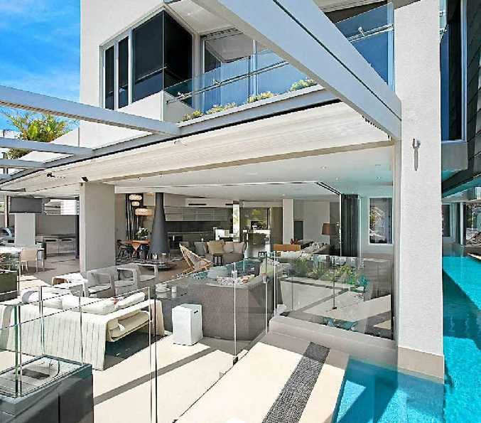TOP POSITION: This waterfront property at 25 Witta Circle, Noosa Sound, has been sold under the hammer, reportedly for $6.5 million.