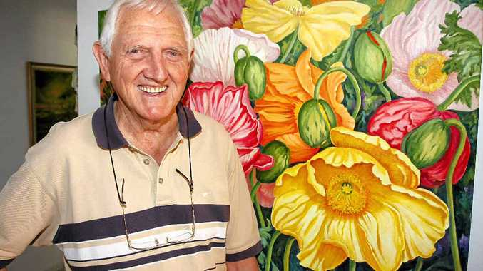 ALWAYS ON THE GO: Merv Elliott, 81, of North Buderim is always trying new things as he believes keeping busy is the key to staying young.