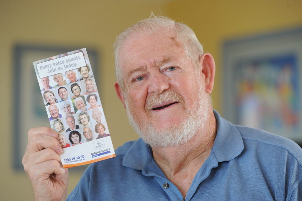 National Seniors Association Hervey Bay president Brian Crane says while there is a serious side to the community organisation, most of it is all about fun.