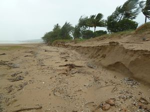 Tense wait for erosion fix