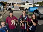 Fire family left homeless after refusing to give up pets