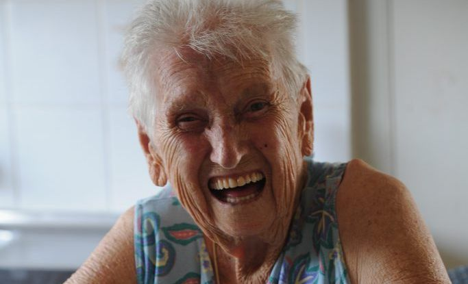 Ruth Robertson at the beautiful age of 91 years old is retiring as president of the Maryborough Base Hospital Auxillary. Photo: Robyne Cuerel / Fraser Coast Chronicle